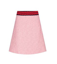 Gucci - Bouclé skirt - Partner yours with the brand's button-up polo top for a…