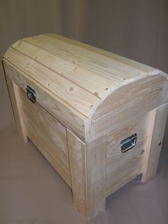 Malle en bois de palette - - Vos bricolages basés sur la récup
