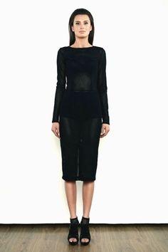 Sukienka z siatki - model 11