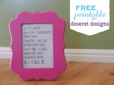 Color My Home with FREE Printables {Color My Home Summer Blog Series} - Simply Designing with Ashley