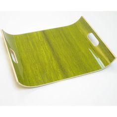 Green Fir Resin Bent Ebonywood Plywood Tray | Blue Ant Studio