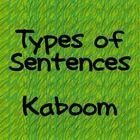 Game to help the whole class review the types of sentences....