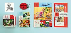 Celebrate 100 years of Ladybird books with Portico Design's gift collection launching in July 2016 Ladybird Books, Book Design, Portico Designs, Stationery, Product Launch, Gifts, Vintage, Shopping, Collection