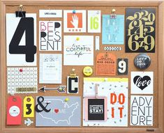 Physical Mood Board by jenrn at @studio_calico