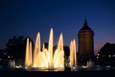 Mannheim, water tower