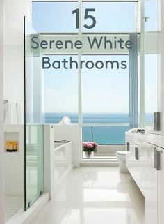 White Bathroom Renovation Inspiration
