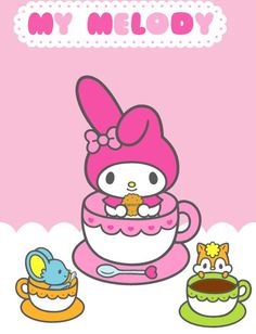 "I got My Melody on the ""Which Sanrio Character Are You?"" BuzzFeed quiz! Click to take the quiz! Which character are you?"