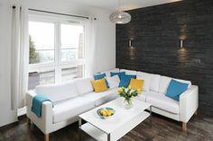 Mały salon - 15 pomysłów od architektów  - zdjęcie numer 1 Outdoor Sectional, Sectional Sofa, Couch, Outdoor Furniture, Outdoor Decor, Teak, Home Decor, Modular Couch, Settee