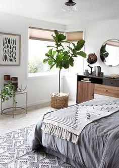 Woodsy Bedroom Makeover