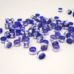 DIY Jewelry Findings- Purple Jewelry Accessories Aluminium Alloys 100pcs