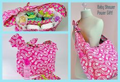 Grab 'n Go Diaper Bag ~ Click to Enlarge  PDF pattern available (free)