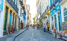 Salvador, Brasil: a capital da Bahia é uma cidade que respira charme, em especial n... - Shutterstock