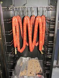 So my whole reason for wanting to get into smoking/sausage making is to make what was a staple growing up, Farmers Sausage. Summer Sausage Recipes, Pork Sausage Recipes, Homemade Sausage Recipes, Homemade Breakfast Sausage, Venison Recipes, Breakfast Sausages, How To Make Sausage, Sausage Making, Charcuterie