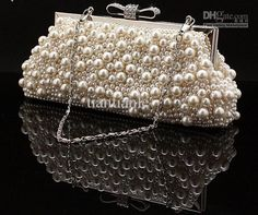 Wholesale Evening Bag - Buy  Beautiful Pink Product Pearl Bag Party Bags Evening Bags Clutch Bridal Package Package, $46.96 | DHgate