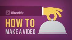 Il video presenta in breve le funzioni dell'applicazione Biteable per la creazione di filmati d'impatto.