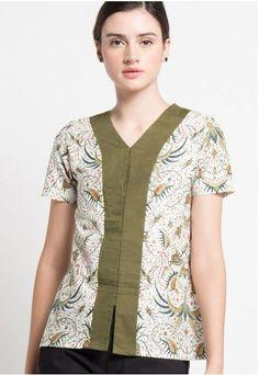 21 Model Baju Batik Print yang Unik e4c1edbd74