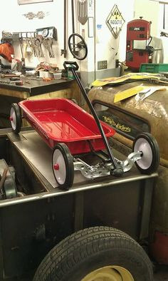Custom radio flyer wagon