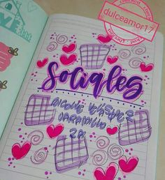 Notebook Art, Notebook Covers, School Notebooks, Brush Pen, Diy And Crafts, Lily, Bullet Journal, Lettering, Artwork