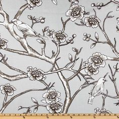 Dwell Studio Vintage Blossom Dove Item Number: UI-134 Our Price: $18.98 per Yard
