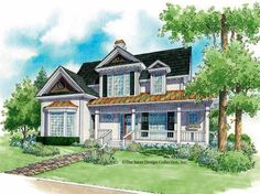 Eplans Victorian House Plan - Gorgeous Porches - 2328 Square Feet and 3 Bedrooms from Eplans - House Plan Code HWEPL05611