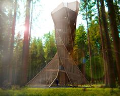 Torre de vigia por Anton Pramstrahler