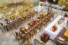 Mesas dos convidados - Foto Greif Fotografia