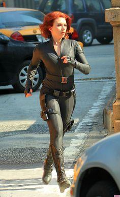 Natasha Romanov/Black Widow (as portrayed by Scarlet Johansson) - Marvel's Avengers Assemble