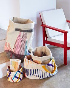 Collections Rainbow et Cahotic Stripes