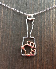 Cowbell+Mississippi+state+bulldog+necklace+by+JaneMcCroryJewelry