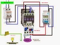 Esquemas eléctricos: Motor monofasico con interruptor horario mas prote...