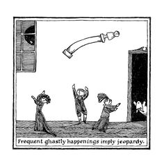 Thoughtful Alphabets: Edward Gorey's Lost Cryptic 26-Word Illustrated Stories | Brain Pickings