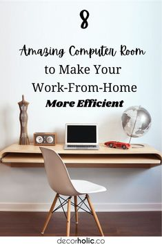 All New Yorkers are very busy now since they have to move their office to their home during this COVID19. And, the computer room has been changed to be a home office. #decorholic #computerroomidea #computerroomdesign #homedecor #workfromhome