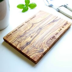 Personalised Olive Wood Chopping Board - view all father's day gifts
