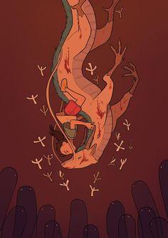 Spirited Away, an art print by Katie O'Neill - INPRNT