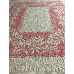Longarm Quilting, Free Motion Quilting, Machine Quilting, Quilting Templates, Quilting Designs, Quilt Patterns, Vintage Sheets, Vintage Quilts, Vintage Linen