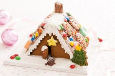 I didn't make one last year... definitely have to this year though!!  Mini gingerbread houses