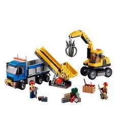 LEGO City Excavator and Truck (60075)