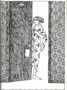 Edward Gorey Books, Wells, Line Illustration, New Artists, American Artists, Traveling By Yourself, Cool Art, Masterpiece Mystery, Matchbox Art