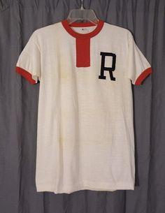 1950s Harvard Crew Team Tee Shirt