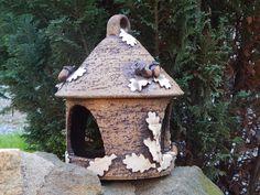Bird Houses, Ceramics Ideas, Outdoor Decor, Pottery Ideas, Fun, Advent, Shape, Houses, Mosaics