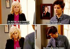 Hangovers blow but Parks and Recreation can make it better.
