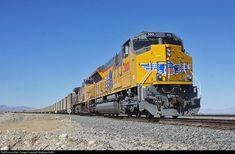 Net Photo: UP 3001 Union Pacific EMD at Vulcon, California by Matthew Griffin Location Map, Photo Location, Union Pacific Railroad, Sun Valley, Locomotive, Santa Fe, Missouri, Trains, California