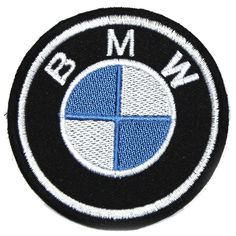 BLACK//BLUE//GREY BMW /'M3/' EMBROIDED SEW//IRON ON PATCH FOR JACKET OVERALLS...