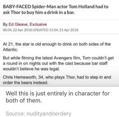 This is too precious I love it and I'm a new fan to marvel god help me another fandom Funny Marvel Memes, Dc Memes, Avengers Memes, Marvel Jokes, Avengers Imagines, Marvel Actors, Marvel Heroes, Marvel Avengers, Marvel Comics