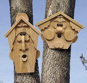 Birdhouse Creatures III Woodworking Plan