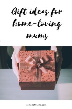 Gift Ideas For Home Loving Mums Mum Giftsmother Day Giftsbest Giftspersonalized
