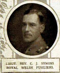 Lieut. Rev. Charles Fleming Jelinger Symons 9 RWF KIA 25.09.15.
