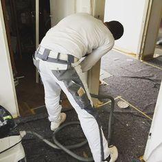 Der letzte Akt beim Umbau - Maler #handwerk by redaktion42