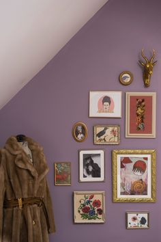 One of the bedrooms inspired by Margot Tenenbaum at Mr. Anderson's House.