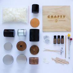 The DIY Kit! #DIYsoycandles #soy #candles #candlemaking #Candlemakingsupplies #candlesupplies #Craftycandlesupplies #howtomakesoycandles #homemade #handmade #DIY